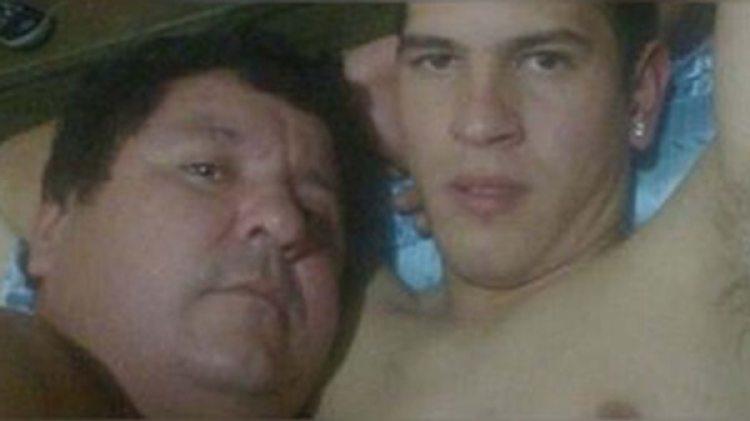 La imagen que desató el escándalo en Paraguay: González y Caballero en una situación íntima