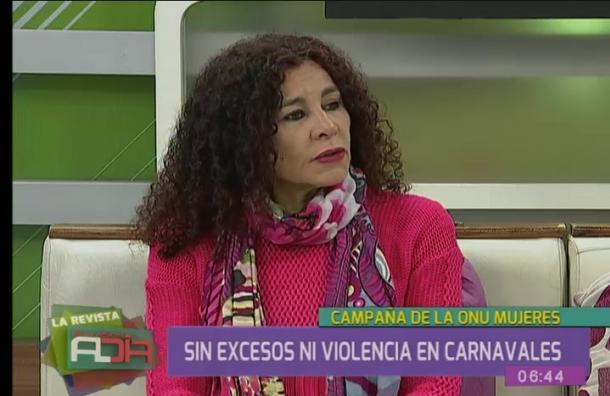 ONU Mujeres realiza campaña contra la violencia en carnavales
