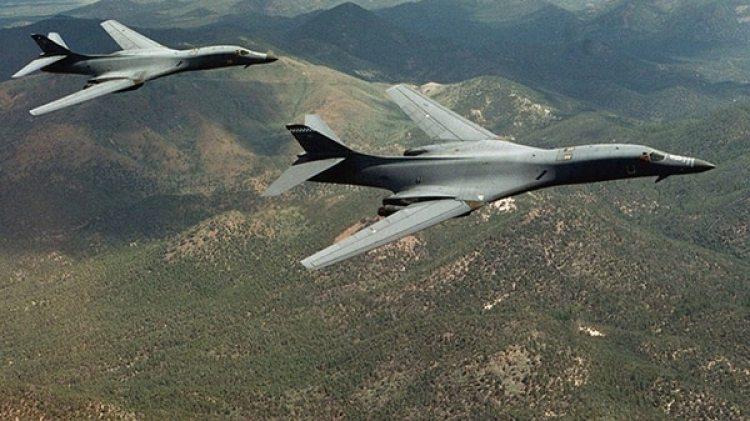 El presupuesto prevé un aumento del 14% en el gasto militar, en especial en lo referido al armamento nuclear. En la foto, dos bombarderos estratégicos B-1 Lancer