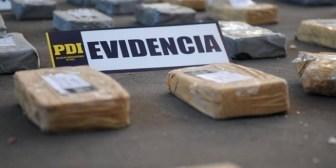Chile. Desarticulan banda que enviaba drogas a Europa en encomiendas llegadas desde Bolivia