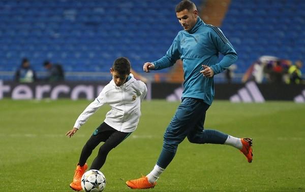 Los lujos del hijo de Cristiano Ronaldo que asombraron al Santiago Bernabéu