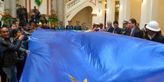 Presidente Evo Morales hace política con demanda marítima