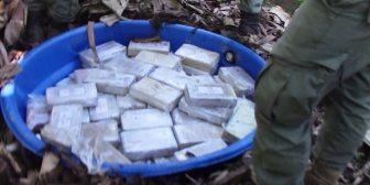 Golpe al narcotráfico en Colombia: incautaron 2,1 toneladas de cocaína y abatieron a cabecilla del Clan del Golfo