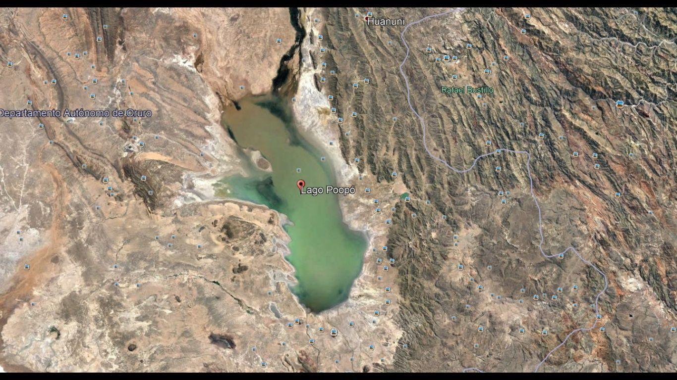 El lago Poopó creció a más de 1.300 Kilómetros — Gobernación