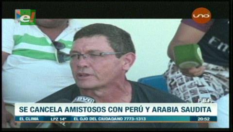 """Soria dice que """"los clubes no quieren prestar a los futbolistas"""""""