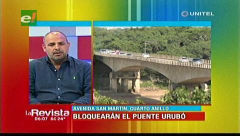 Porongo responsabiliza a la Alcaldía cruceña por no construir nuevo puente