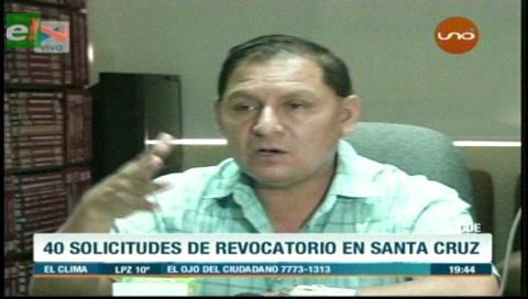 TED: 10 municipios cruceños iniciarán proceso de revocatorios a ediles