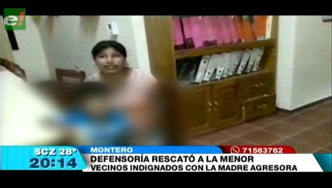 Defensoría de la Niñez rescata a menor maltratada por su madre