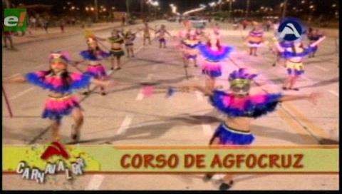 Santa Cruz: Más de 2.500 bailarines brillaron en el corso cultural