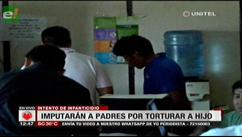 Imputarán por intento de infanticidio a padres que habrían torturado a su bebé