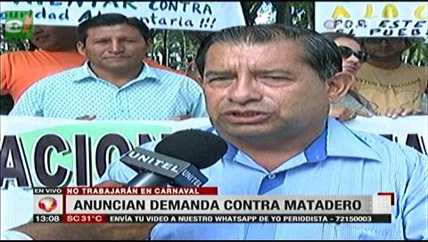 Fejuve demandará al sindicato del Matadero por negarse a trabajar en carnaval