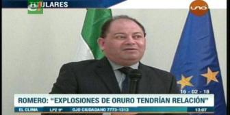 Video titulares de noticias de TV – Bolivia, mediodía del viernes 16 de febrero de 2018