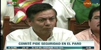 Cívicos piden garantías de seguridad para el ciudadano que acate el paro