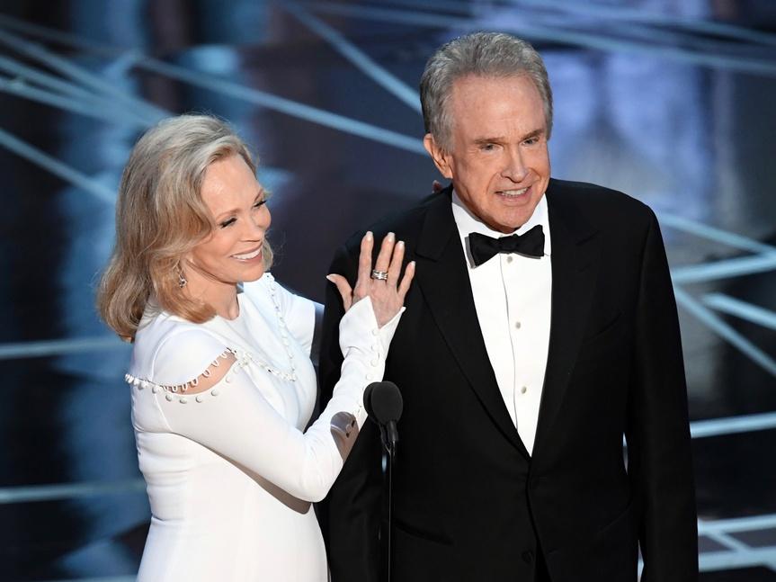 Oscar 2018, opinión: Beatty y Dunaway quieren retruco