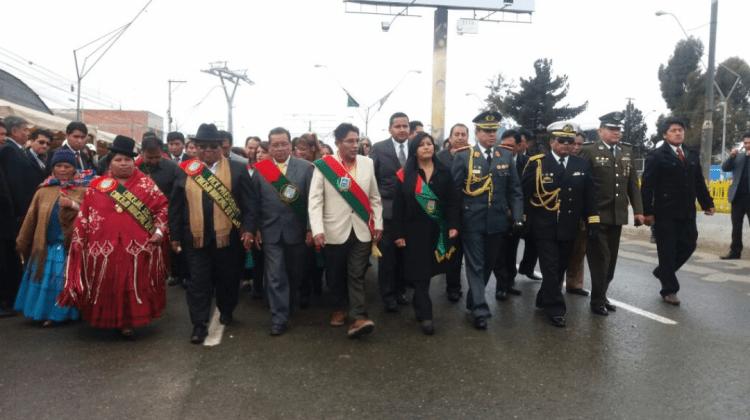Chapetón manda a trabajar a Huanacuni y arman polémica sobre