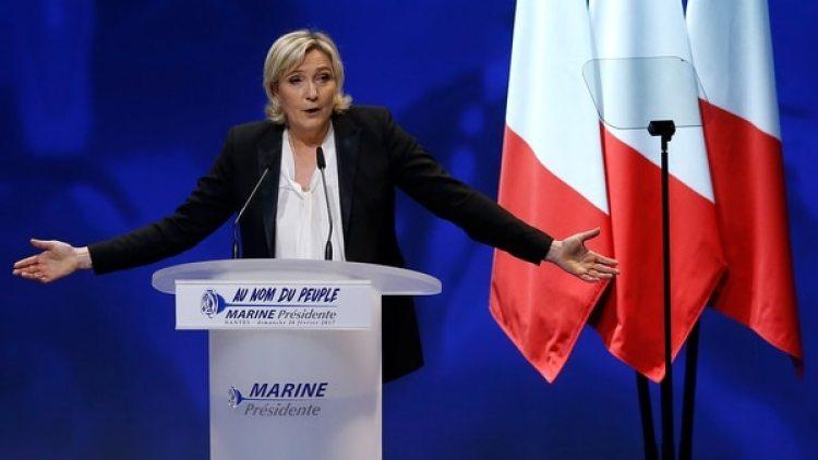Marine Le Pen, la candidata del Frente Nacional (Reuters)