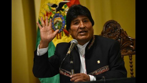 Propone Evo Morales proyecto de ley para proteger a militares