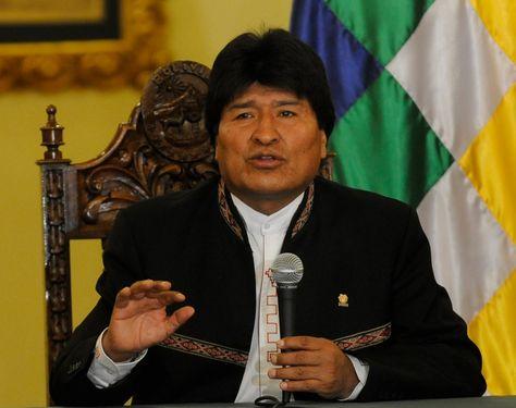 El presidente Evo Morales en el Palacio de Gobierno. Foto: Archivo de La Razón
