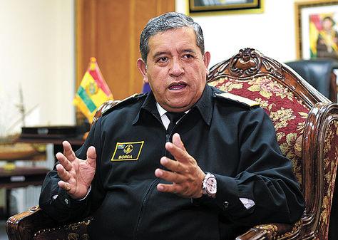 Yamil O. Borda Sosa, comandante en Jefe de las Fuerzas Armadas.