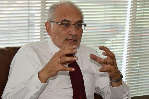 El expresidente Carlos Mesa durante una entrevista con La Razón. Foto: Miguel Carrasco