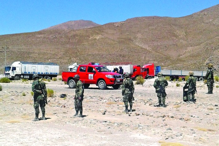 El contrabando ingresa de Chile por al menos 120 rutas clandestinas