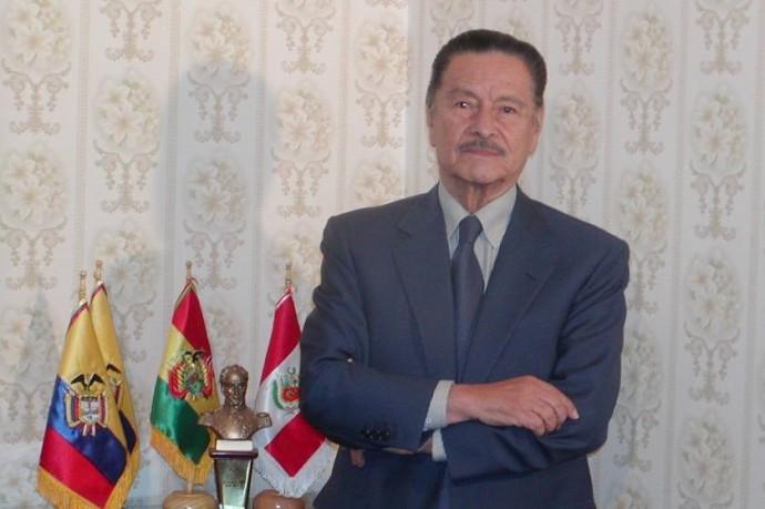 Julio Garret Ayllón murió esta madrugada. Foto: Archivo