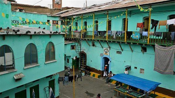 La cárcel de San Pedro de La Paz.
