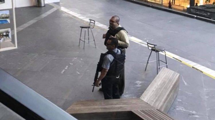 La policía acordonó el lugar. (www.lopezdoriga.com)