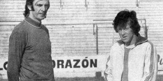 La emotiva despedida de César Luis Menotti a René Houseman
