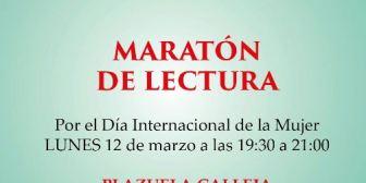 Escritores del PEN invitan a maratón de lectura
