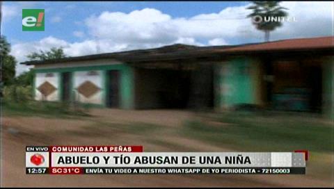 Dos sujetos son acusados de abusar de una menor en la comunidad La Peñas
