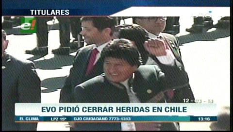 Video titulares de noticias de TV – Bolivia, mediodía del lunes 12 de marzo de 2018