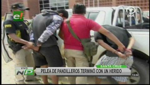 Pelea entre pandillas deja un joven herido de bala