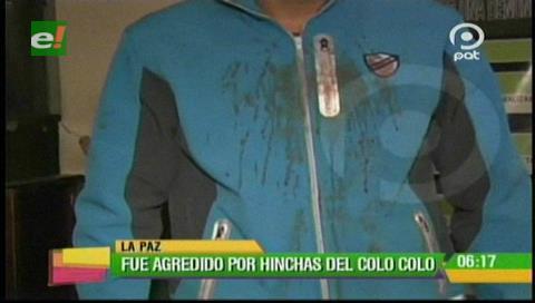 Hinchas de Colo Colo agreden a un joven tras terminar el partido contra Bolívar
