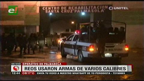 Entregan granadas secuestradas de reos a la FFAA