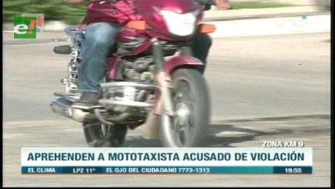 La Guardia : Aprehenden a mototaxista acusado de violación