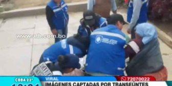 Guardias municipales maltrataron a comerciante en Sacaba