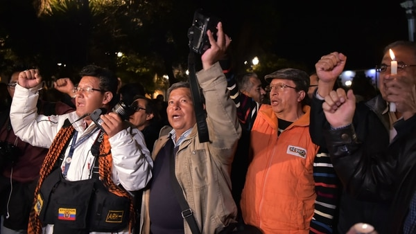 Revelan identidad de periodistas ecuatorianos secuestrados en la frontera