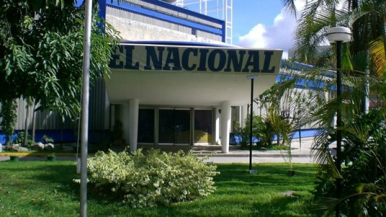 Un grupo armado irrumpió el sábado en el diario El Nacional, donde mantuvieron a personas de rehenes