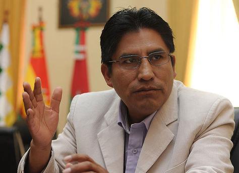 Félix Patzi, el líder del partido Movimiento Tercer Sistema. Foto: Archivo La Razón
