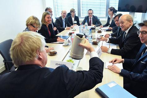 Consejo de Ministros de Asuntos Exteriores de la UE se reunieron en Luxemburgo. Foto: EFE