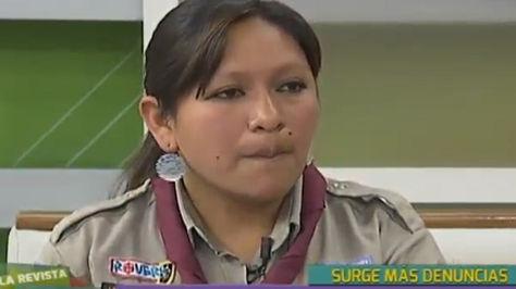 Laura Tórrez, directora Distrito Scouts La Paz