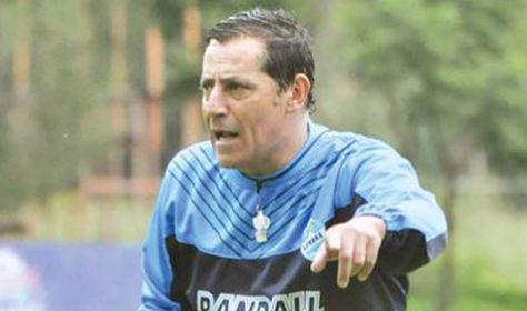 El entrenador Miguel Ángel Zahzú