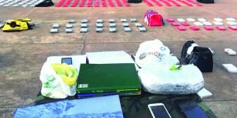 Hallan más de 500 K de cocaína pura en hacienda de un excónsul del Gobierno de Evo