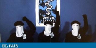 ETA adelanta su disolución y la anunciará el primer fin de semana de mayo en Francia
