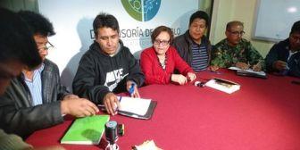 Firma de un acuerdo entre cocaleros y la FTC baja la tensión en La Asunta