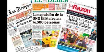 Nuevas normativas amenazan estabilidad financiera de medios de comunicación de Bolivia