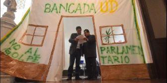 Oposición deja el pasillo y recibe oficina de trabajo en el Legislativo boliviano