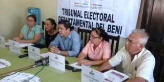 Rechazan solicitud para revocar a alcaldes de dos municipios de Beni