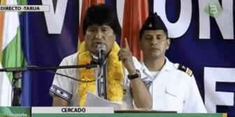 """Evo Morales convoca a las juventudes del MAS a """"iniciar la batalla por redes sociales"""""""